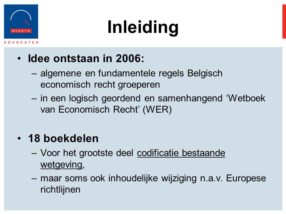 Inleiding Idee ontstaan in 2006: 18 boekdelen