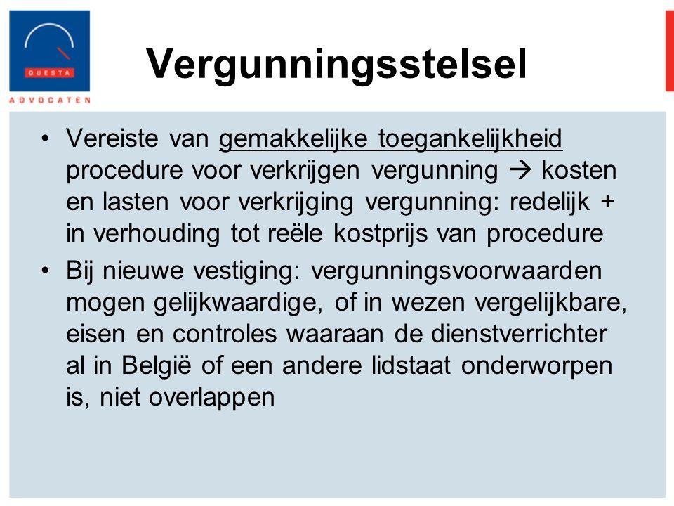 Vergunningsstelsel