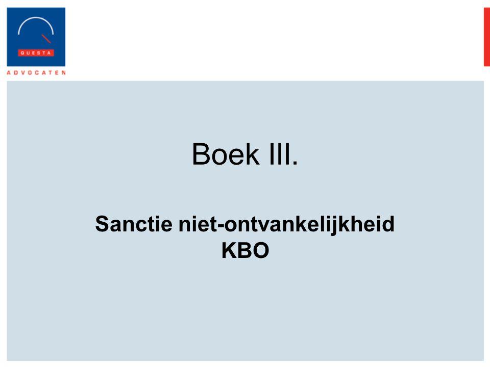 Sanctie niet-ontvankelijkheid KBO
