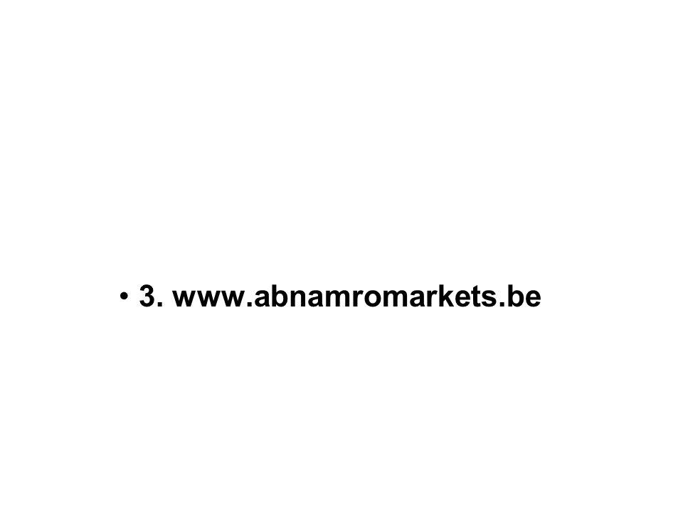 3. www.abnamromarkets.be