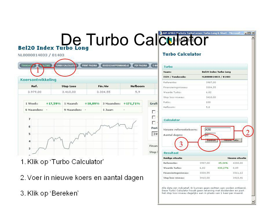 De Turbo Calculator 1 2 3