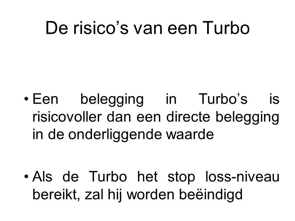 De risico's van een Turbo