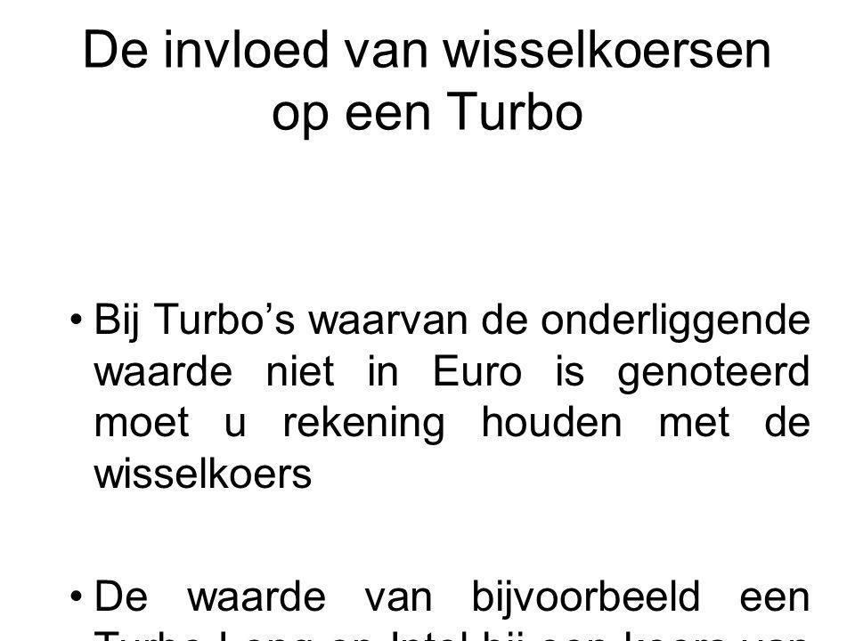 De invloed van wisselkoersen op een Turbo