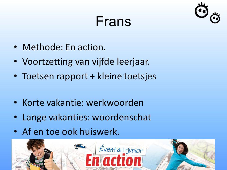 Frans Methode: En action. Voortzetting van vijfde leerjaar.