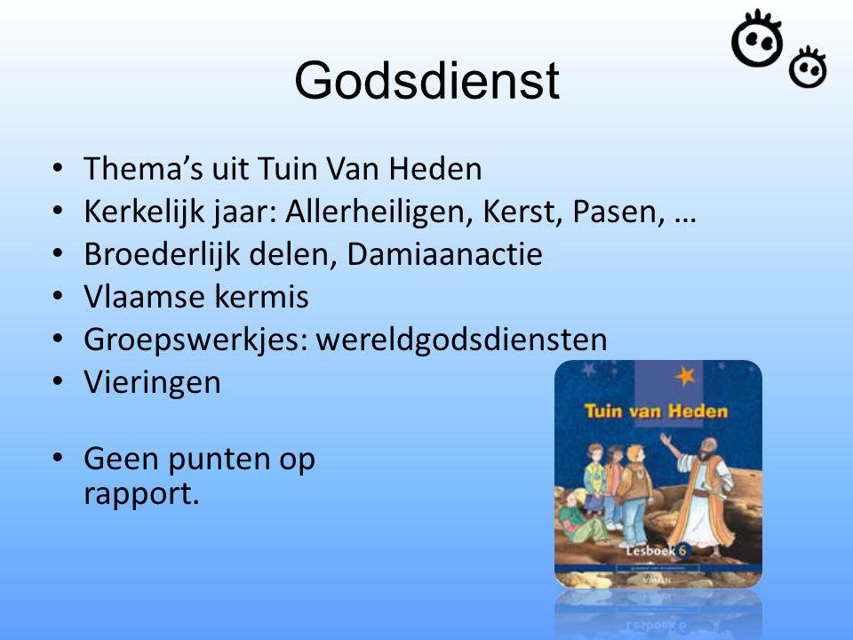 Godsdienst Thema's uit Tuin Van Heden