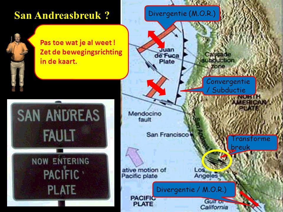 San Andreasbreuk Pas toe wat je al weet !
