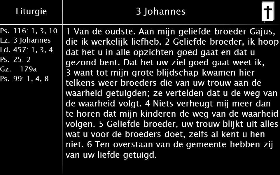 3 Johannes