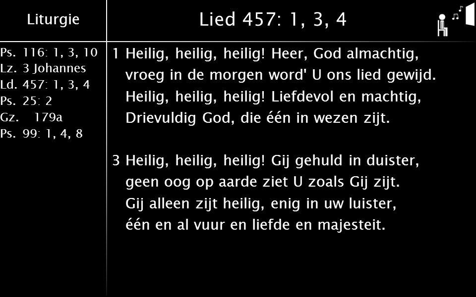 Lied 457: 1, 3, 4
