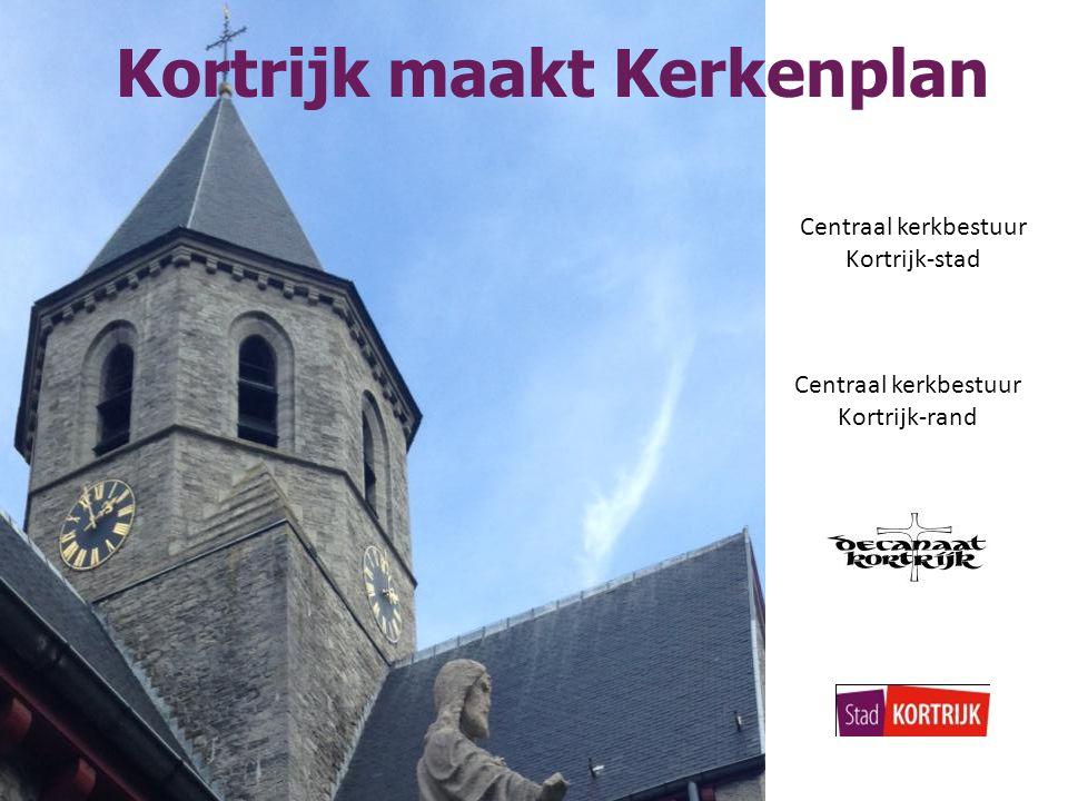 Kortrijk maakt Kerkenplan