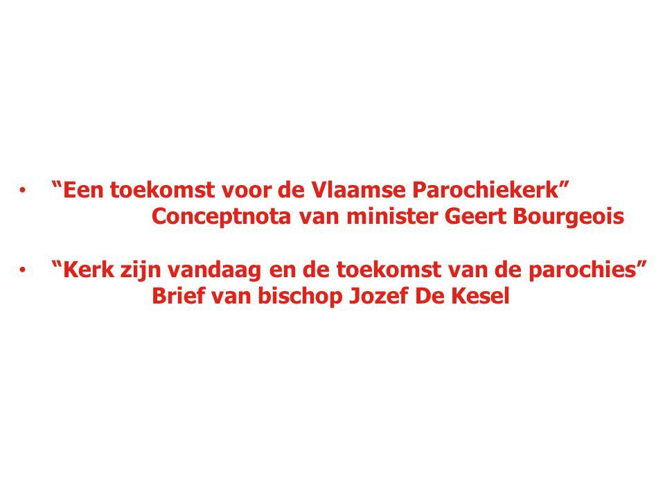 Een toekomst voor de Vlaamse Parochiekerk