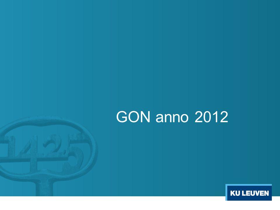 GON anno 2012