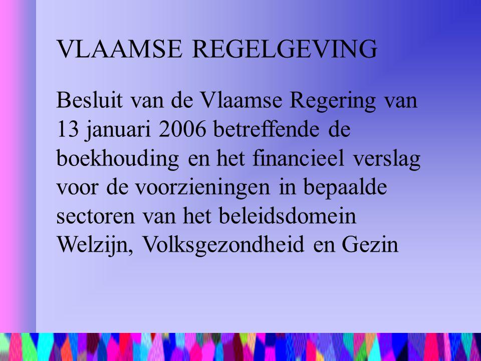 VLAAMSE REGELGEVING