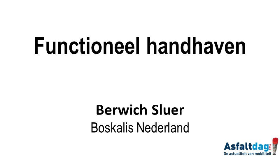 Functioneel handhaven
