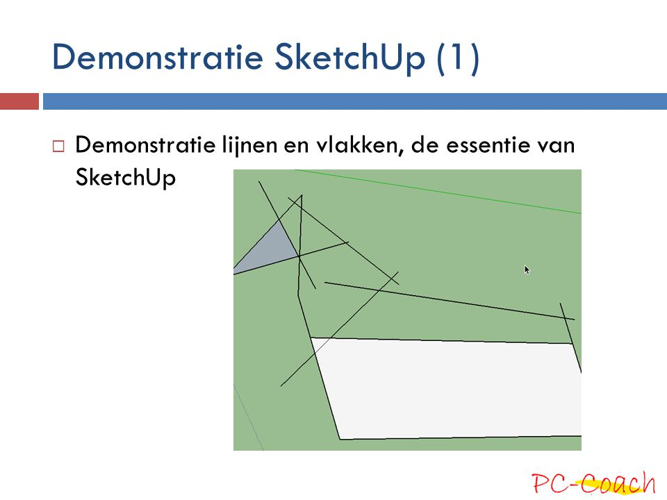 Demonstratie SketchUp (1)