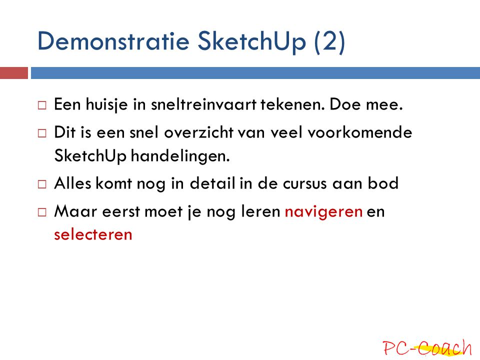 Demonstratie SketchUp (2)