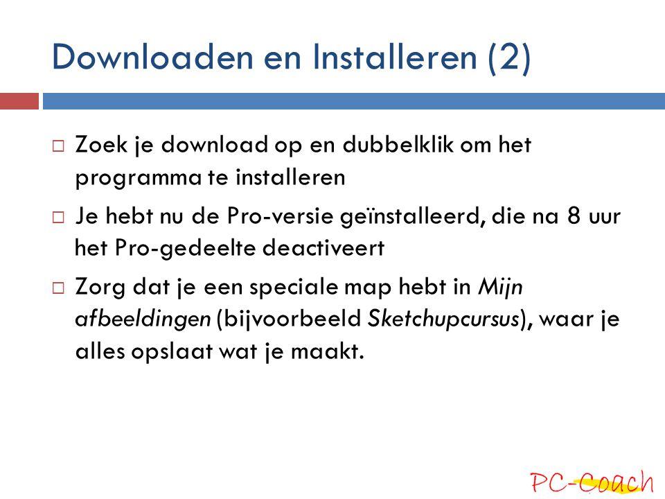 Downloaden en Installeren (2)
