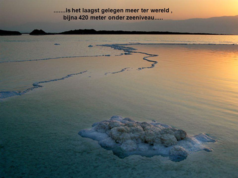 .......is het laagst gelegen meer ter wereld ,
