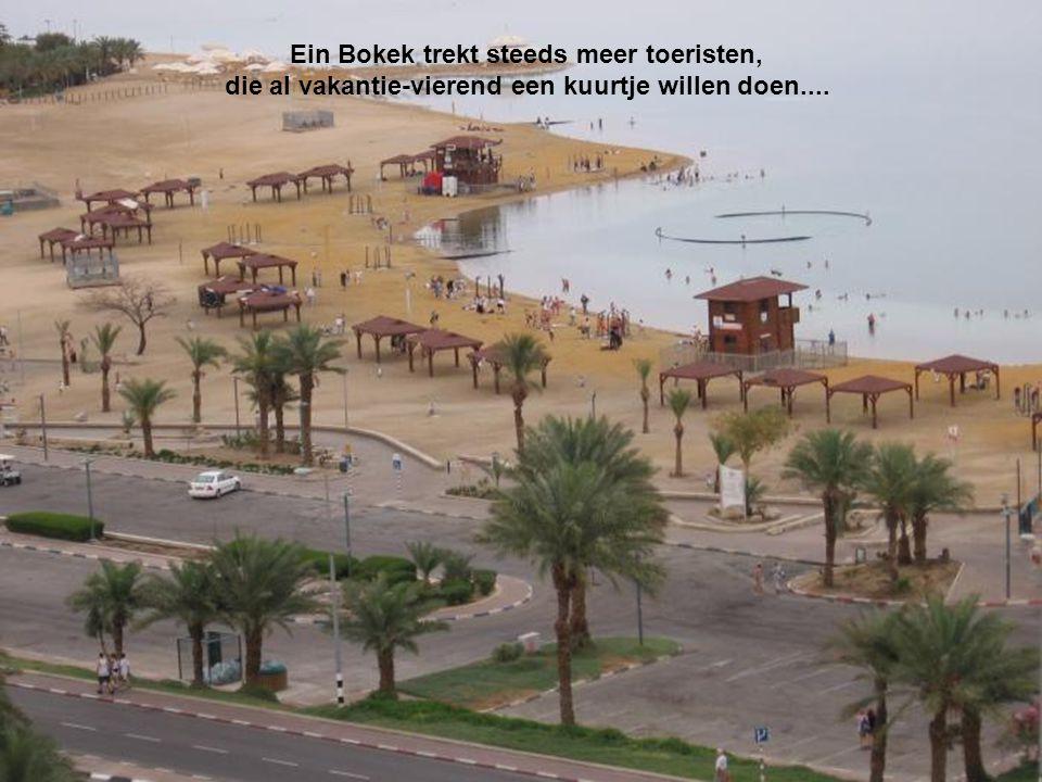 Ein Bokek trekt steeds meer toeristen,