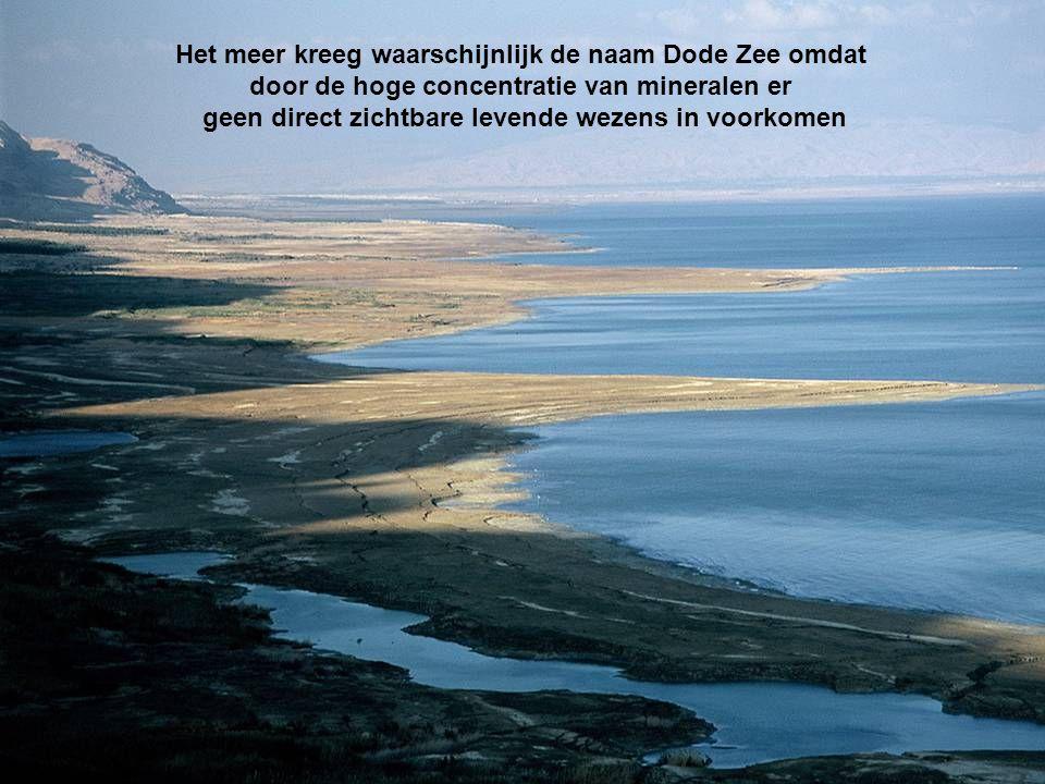 Het meer kreeg waarschijnlijk de naam Dode Zee omdat