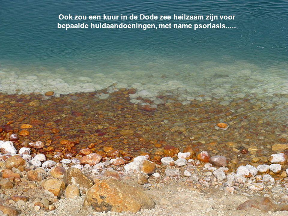 Ook zou een kuur in de Dode zee heilzaam zijn voor