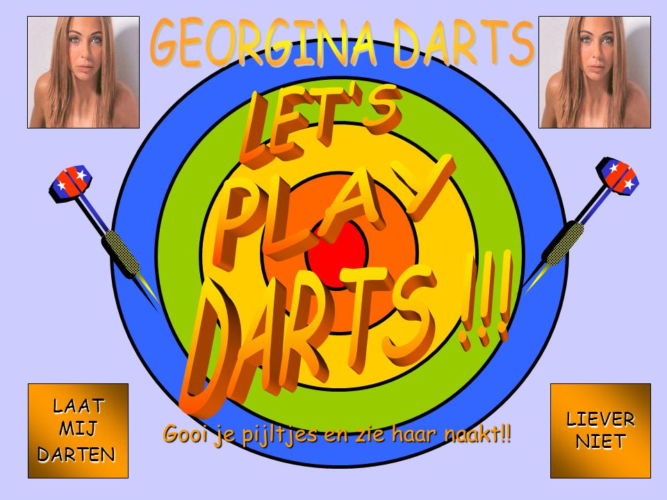 GEORGINA DARTS LET S PLAY KIPKE GRAPHICS BOB 2001 2000 KIPKE GRAPHICS