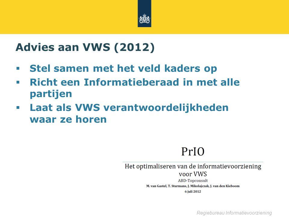 Advies aan VWS (2012) Stel samen met het veld kaders op