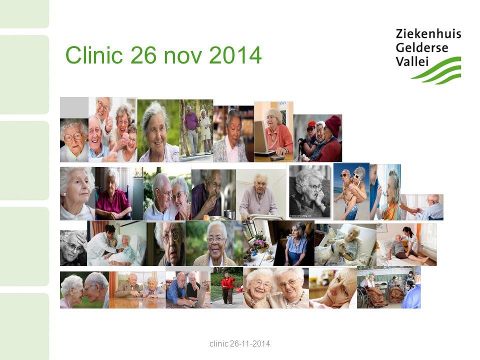 Clinic 26 nov 2014 clinic 26-11-2014