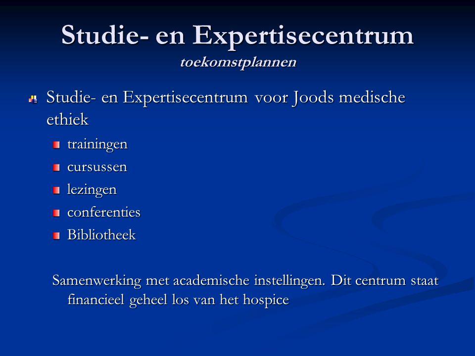 Studie- en Expertisecentrum toekomstplannen
