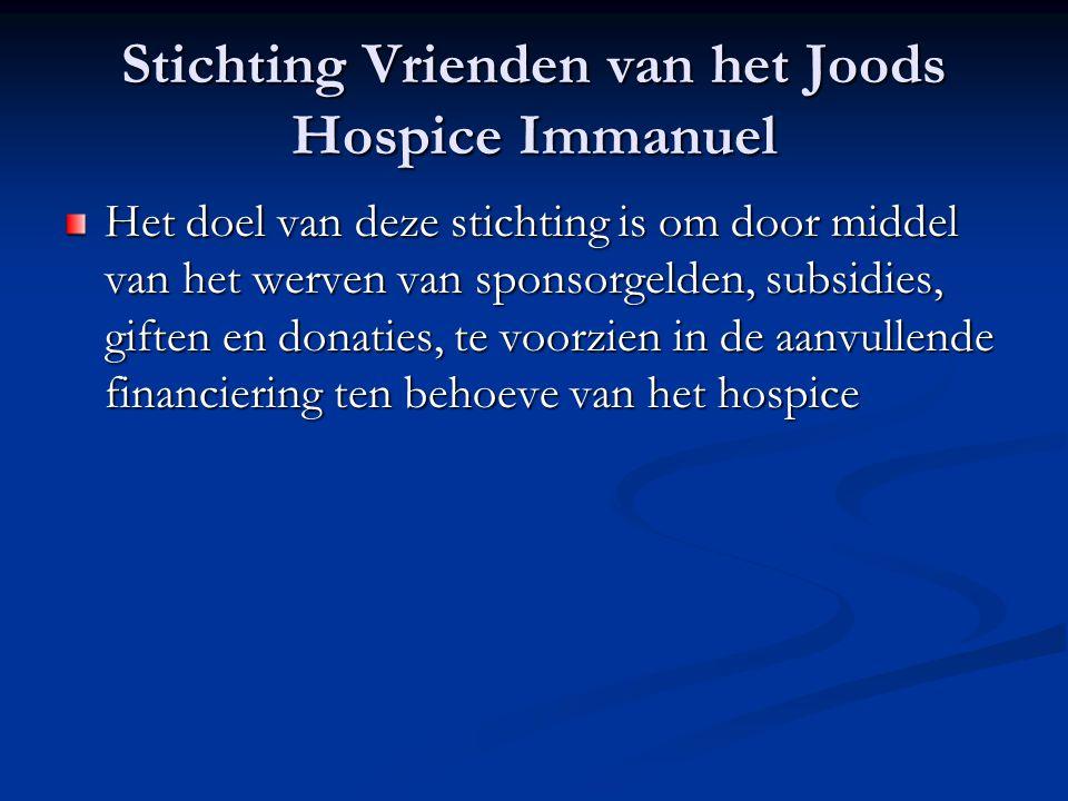 Stichting Vrienden van het Joods Hospice Immanuel