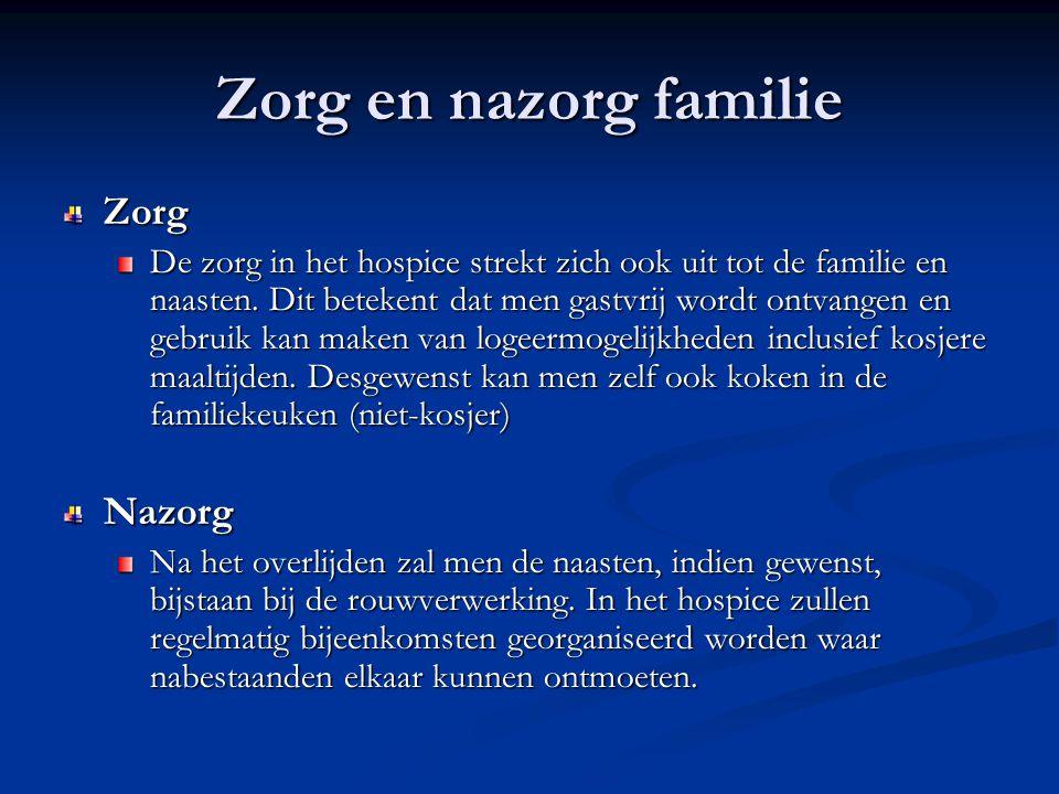 Zorg en nazorg familie Zorg Nazorg
