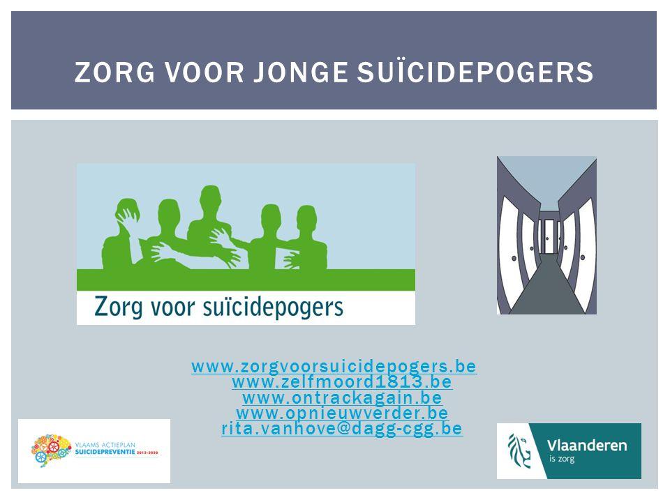 Zorg voor Jonge Suïcidepogers