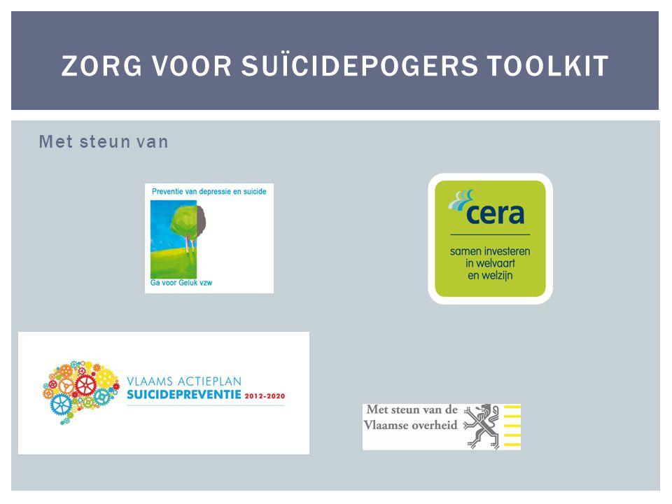 Zorg voor suïcidepogers toolkit