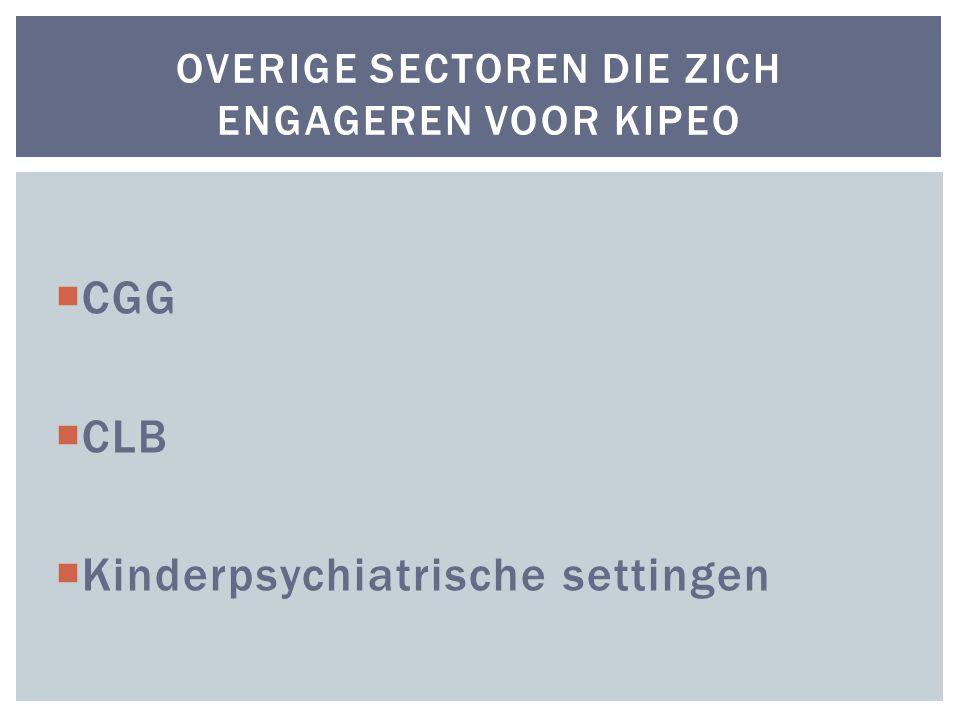 Overige sectoren die zich engageren voor KIPEO
