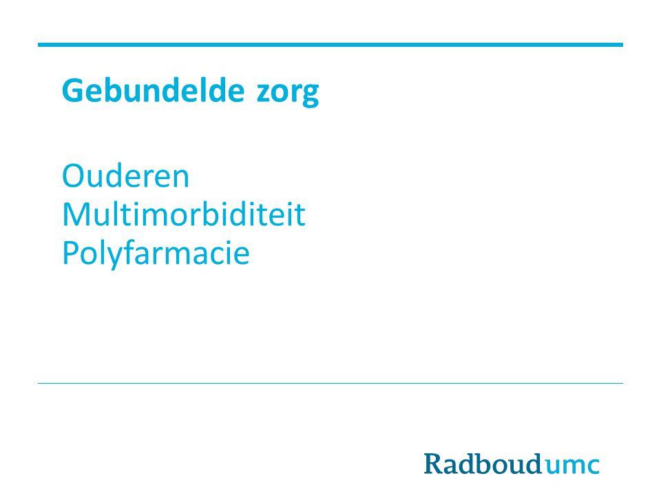 Ouderen Multimorbiditeit Polyfarmacie