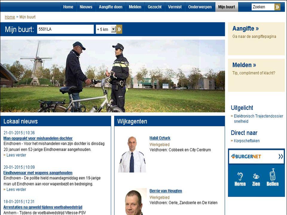 Contact wijkagenten www.politieveldhoven.nl