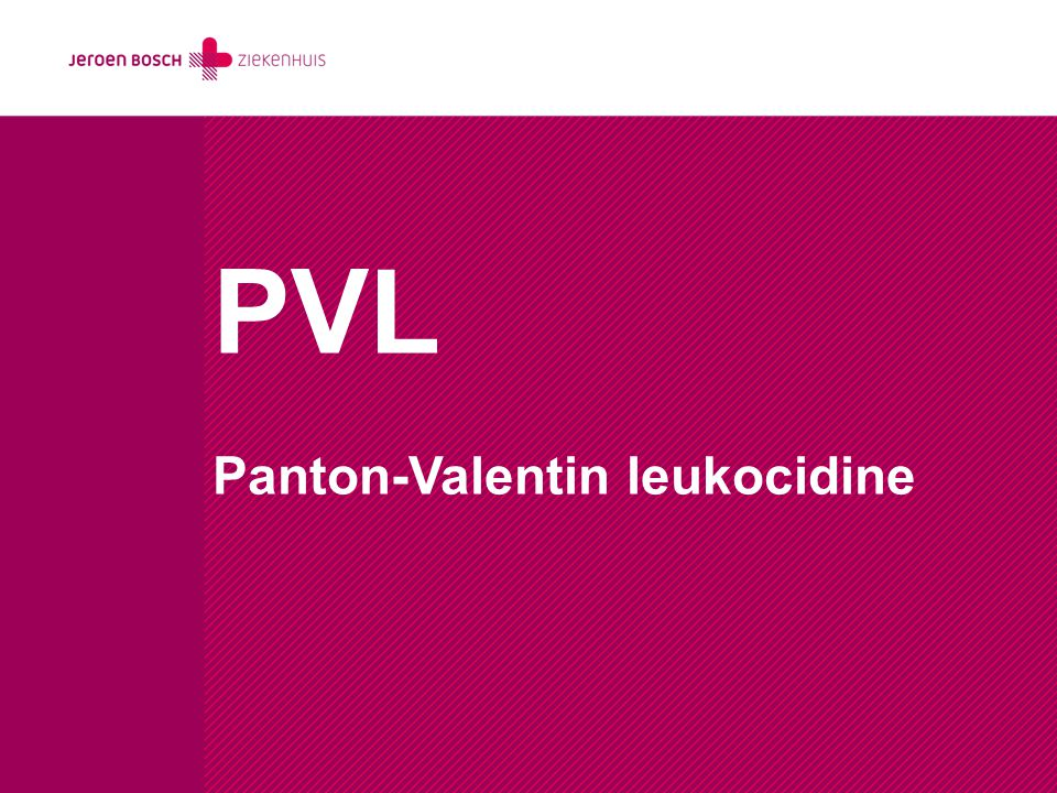 PVL Panton-Valentin leukocidine