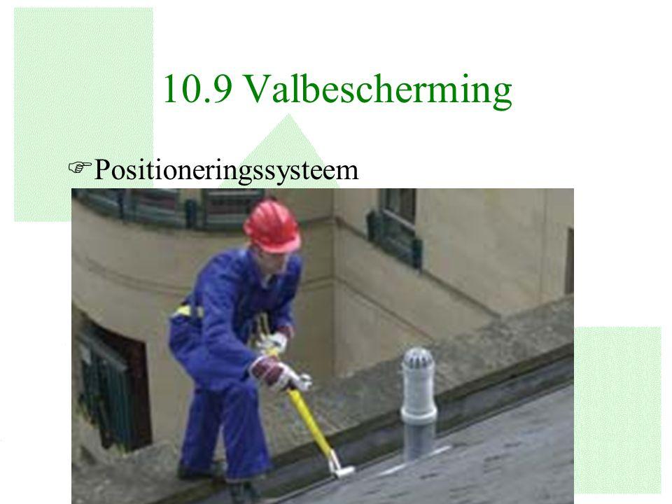 10.9 Valbescherming Positioneringssysteem
