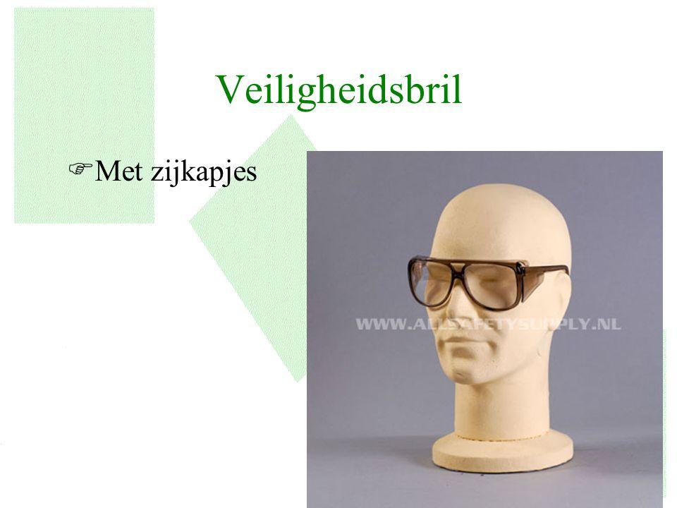 Veiligheidsbril Met zijkapjes