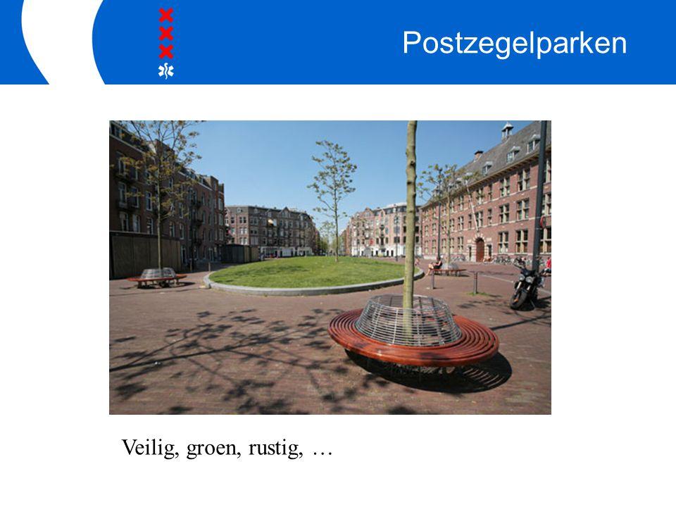 Postzegelparken Een eigen huis Veilig, groen, rustig, …