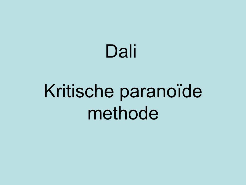 Kritische paranoïde methode