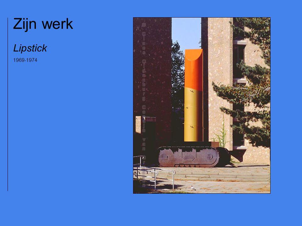 Zijn werk Lipstick 1969-1974