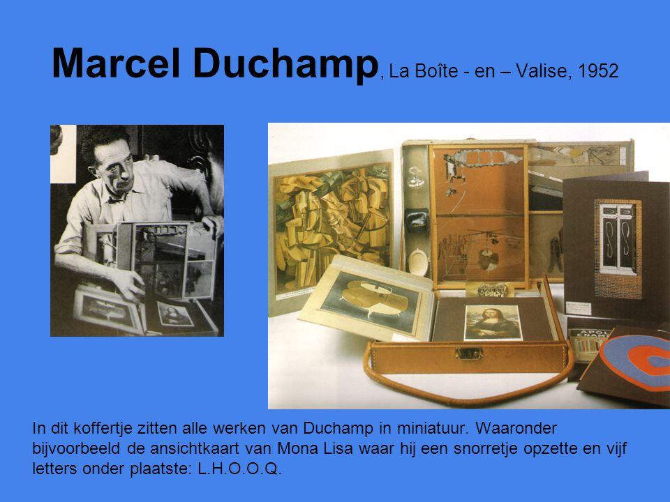 Marcel Duchamp, La Boîte - en – Valise, 1952