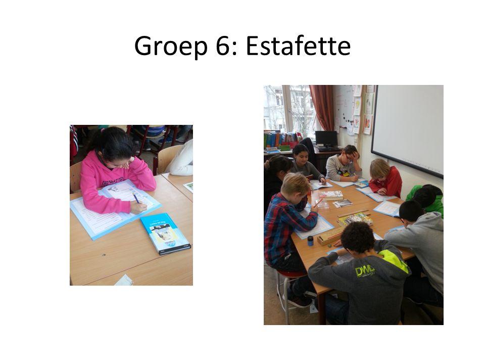 Groep 6: Estafette