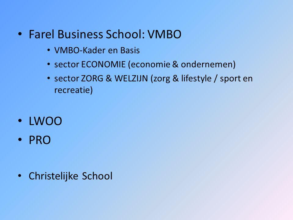 Farel Business School: VMBO