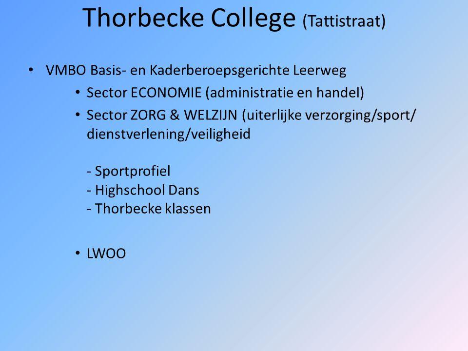 Thorbecke College (Tattistraat)