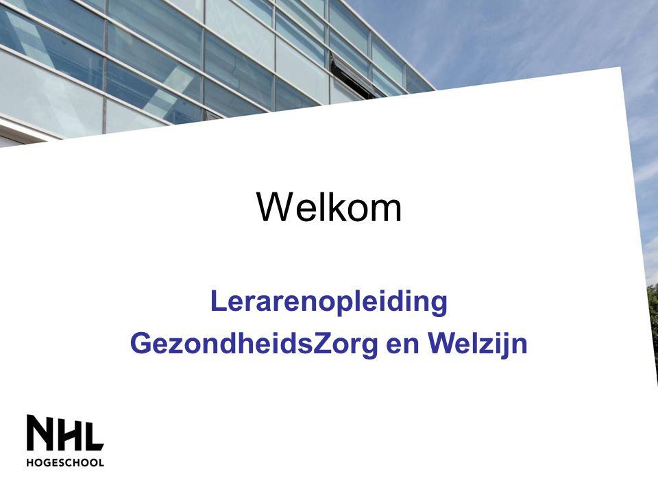 Lerarenopleiding GezondheidsZorg en Welzijn