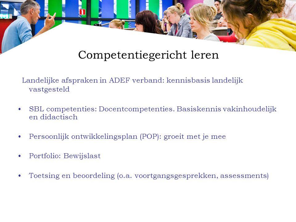 Competentiegericht leren