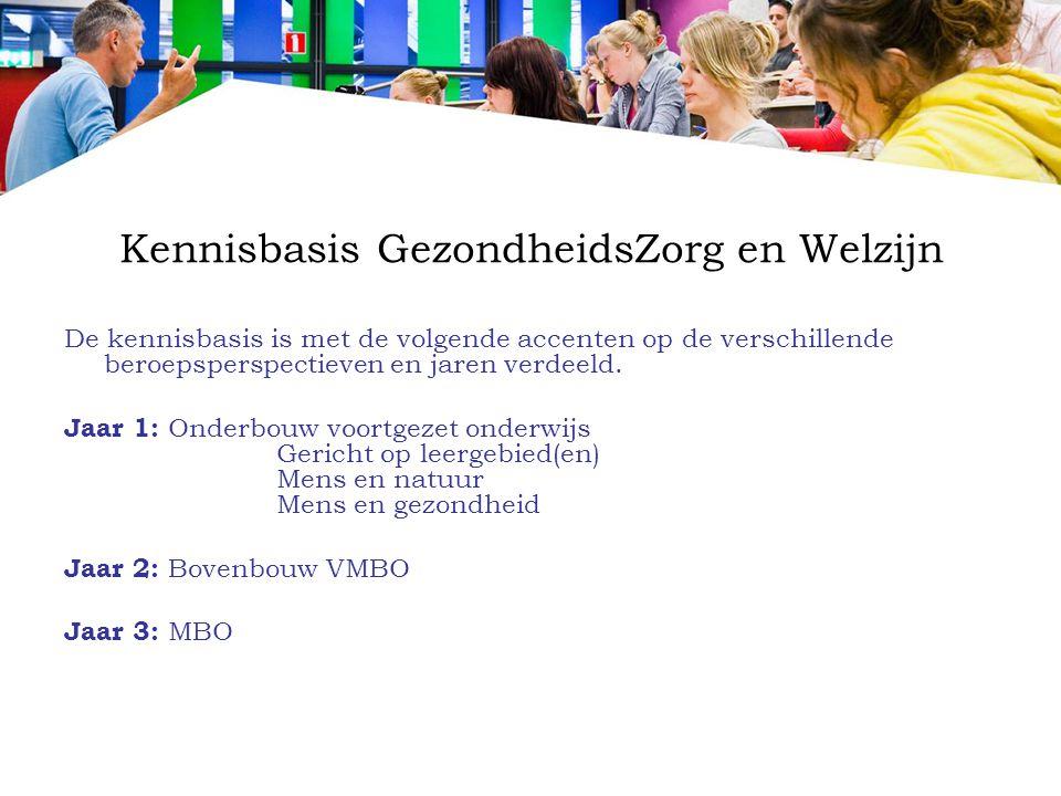 Kennisbasis GezondheidsZorg en Welzijn