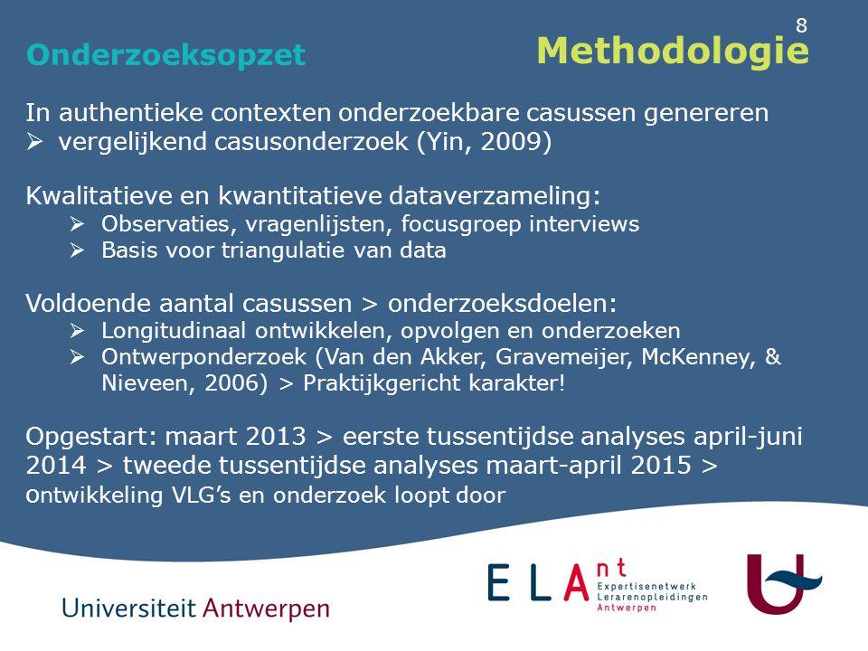 Methodologie Participanten