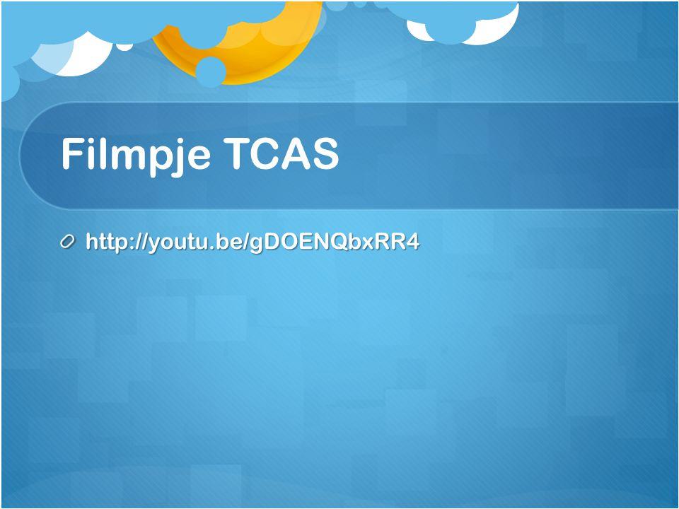 Filmpje TCAS http://youtu.be/gDOENQbxRR4
